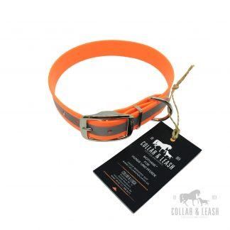 Halsbänder - 25mm - mit Reflektorstreifen