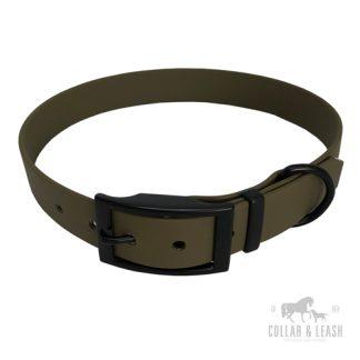 Halsband militray olive OD521 Black Edition