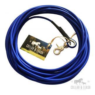 Biothane Hundeleine - blau - BU522