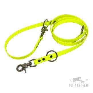Verstellbare Führleine YE527 neon gelb