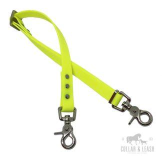 Anschnallgurt für Hunde im Auto - neon gelb - YE527